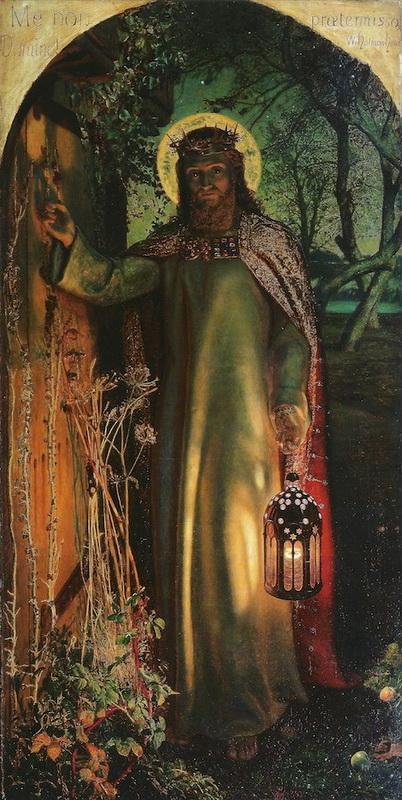 """Duhovno-umetniška razlaga slike John Collier-ja """"Oznanjenje""""."""