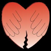 Skupnost razvezanih v cerkvi Srce logo